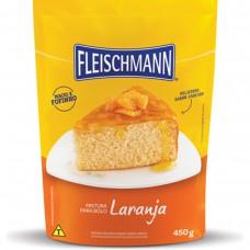 Mistura Para Bolo Sabor Laranja Fleischmann 450g