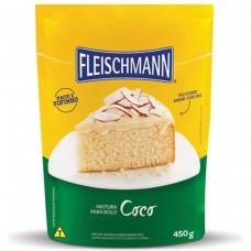 Mistura Para Bolo Sabor Coco Fleischmann 450g