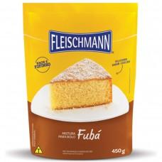 Mistura Para Bolo De Fubá Fleischmann 450g