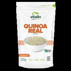 Quinoa Orgânica Em Flocos Vitalin 120g