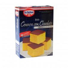 Mistura Para Bolo Sabor Cenoura Com Recheio E Cobertura De Chocolate Dr. Oetker Caixa 550g