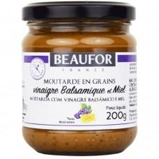 Mostarda Fr Beaufor Bals E Mel 200g