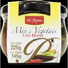 Mix Vegetais Na Brasa La Pastina (em Óleo De Girassol)