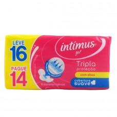 Abs Intimus Gel Leve 16 Pague 14  Suave Com Abas