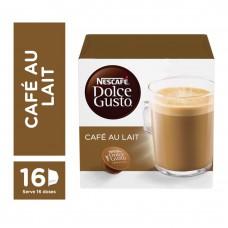 Café Em Cápsula NescafÉ Dolce Gusto Caf? Au Lait 16 Cápsulas