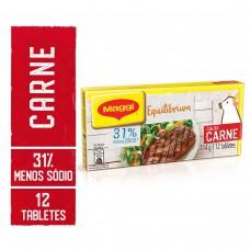 Maggi Equilibrium Carne Caldo Tablete 114g