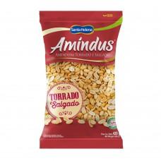 Amindus Amendoim Sem Pele Salgado 420g- 1