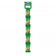 Grelhaditos Amendoim Sem Pele Salgado Cartela Com 5 Unidades De 30g Cada