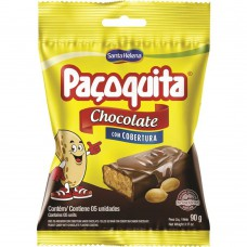 PaÇoquita Coberta Com Chocolate Pacote De 90g Com 5 Unidades