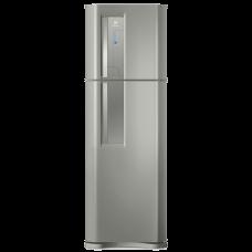 Geladeira/refrigerador Top Freezer Cor Inox 382l Electrolux (tf42s) 220v