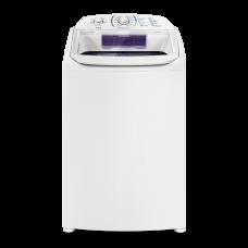 Máquina De Lavar 14 Kg Turbo Electrolux Branca Com Cesto Inox E Silenciosa Sem Agitador (lpr14) 127v
