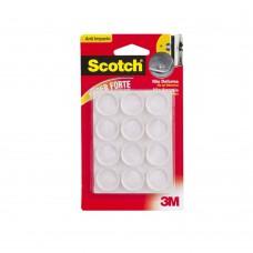 Protetor Anti-impacto Redondo Extra Grande 12 Unidades Marrom 3m Scotch