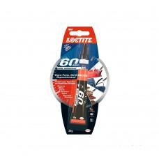 Adesivo Multiúso Loctite 60 Sec 20g Henkel