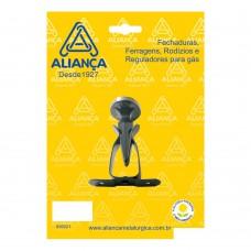 Prendedor De Porta Para Rodapé 86151/1 Aço Zamac Aliança