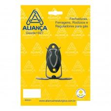 Prendedor De Porta Para Piso 86151/3 Aço Zamac Aliança