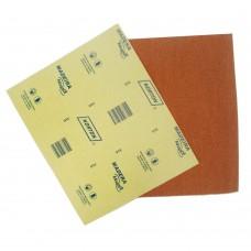 Lixa Para Madeira 22,5x27,5cm Gramatura Marrom 080 Norton