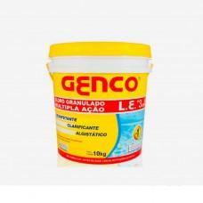 Cloro Granulado Múltipla Ação Para Piscina 10kg Genco