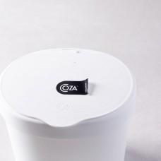 Lixeira De Polipropileno Para Pia 2,5 Litros Branco Coza
