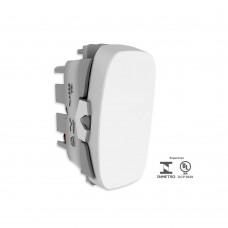 Interruptor Simples 10a 250v Gracia Branco Alumbra