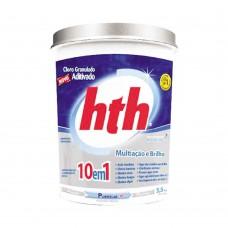 Cloro Para Piscina Granulado Aditivado Mineral Brilliance 5,5kg Hth