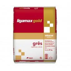 Argamassa De Uso Interno Para Porcelanato Ligamax Gold Grês 20kg Portokoll