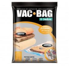 Saco Para Armazenamento à Vácuo Vac Bag Grande Transparente Ordene