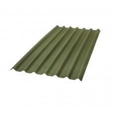 Telha Ondulada Betuminosa 200x95cm 3mm Stilo Verde Onduline