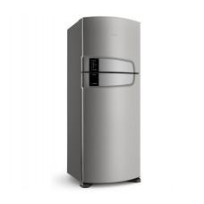 Geladeira Consul Frost Free Duplex 437 Litros Cor Inox Com Horta Em Casa 220v