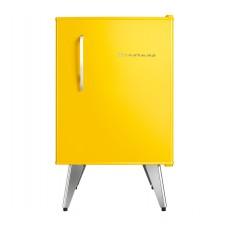 Frigobar Brastemp Retrô 76 Litros Amarelo 110v