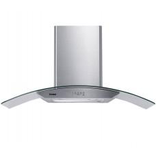 Coifa De Parede Consul 90 Cm Inox 5 E 6 Bocas Com Design Em Vidro E Aviso Lavar Filtro 110v