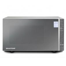 Micro-ondas Brastemp 32 Litros Cor Inox Espelhado Com Painel Integrado 220v