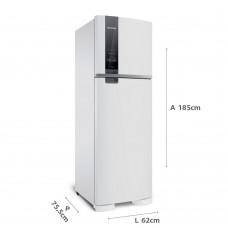 Geladeira Brastemp Frost Free Duplex 400 Litros Branca Com Freeze Control 220v