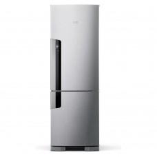 Geladeira Consul Frost Free Duplex 397 Litros Evox Com Freezer Embaixo 220v