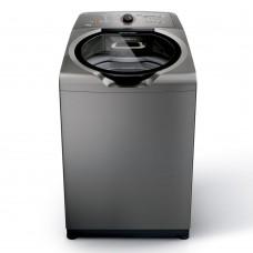 Máquina De Lavar Brastemp 15kg Titânio Com Ciclo Edredom Especial E Enxágue Anti-alérgico - Bwn15at 220v