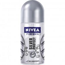 Desodorante Roll On Nivea Silver Proctect For Men 50ml