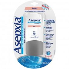 Asepxia Maquiagem Antiacne Líquida Cor Bege Com 30 Ml