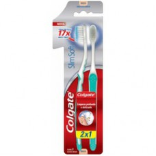 Escova Dental Colgate Slim Soft Macia 2un Promo Leve 2 Pague 1
