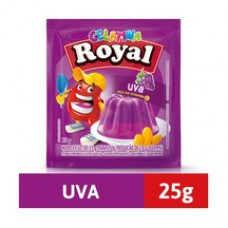 Gelatina Royal 25g Uva