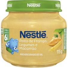 Alimento Infantil Nestle 115g Galinha Legumes Macarrão