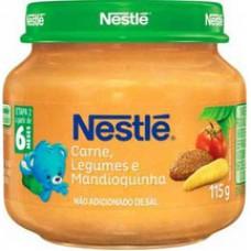 Alimento Infantil Nestle 115g Carne C/legumes
