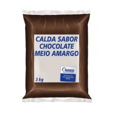 Calda Chocolate Meio Amargo 3kg