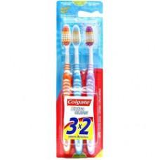 Escova Dental Colgate Extra Clean Macia 3un Promo Leve 3 Pague 2
