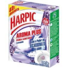 Pedra Sanitário Harpic Plus 20g 40%desc Lav.