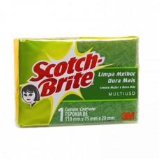 Esponja Dupla Face Scotch Brite