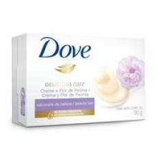 Sabonete Dove Delicious Care Creme E Flor De Peônia 90g