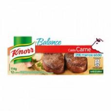 Caldo Knorr Balance Carne 12  Cubos 114g