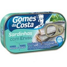 Sardinha Gomes Da Costa 125g Com Ervas