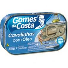 Cavalinha Gomes Da Costa 125g Oleo