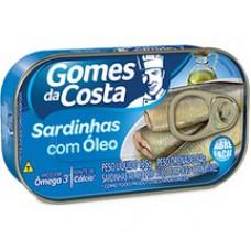 Sardinha Gomes Da Costa 125g File Oleo