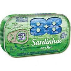 Sardinha 88 125g Oleo
